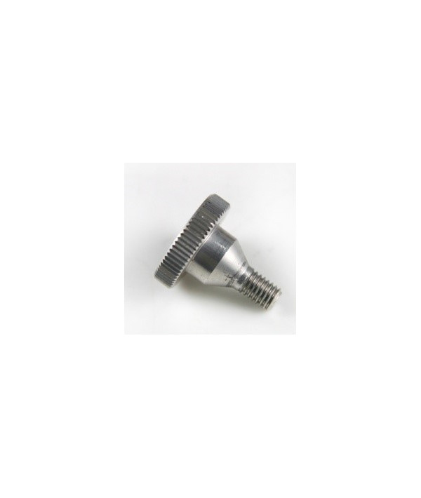 SCREW (X 10) - KNURLED - ALUMINIUM - M6